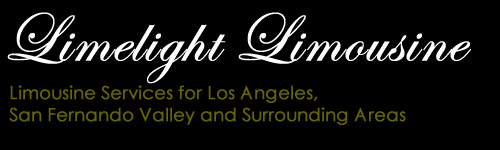 Limousine Services for Los Angeles, San Fernando Valley and Surrounding Areas